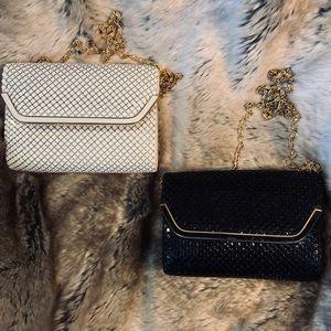 Handbags - Classy, vintage metallic clutch